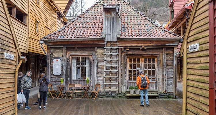 Holzhaus Bryggen
