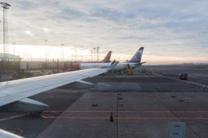 Norwegenreise - Kopenhagen Flughafen